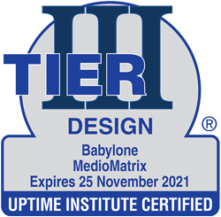 certificat TIER3 Design Advanced Médiomatrix