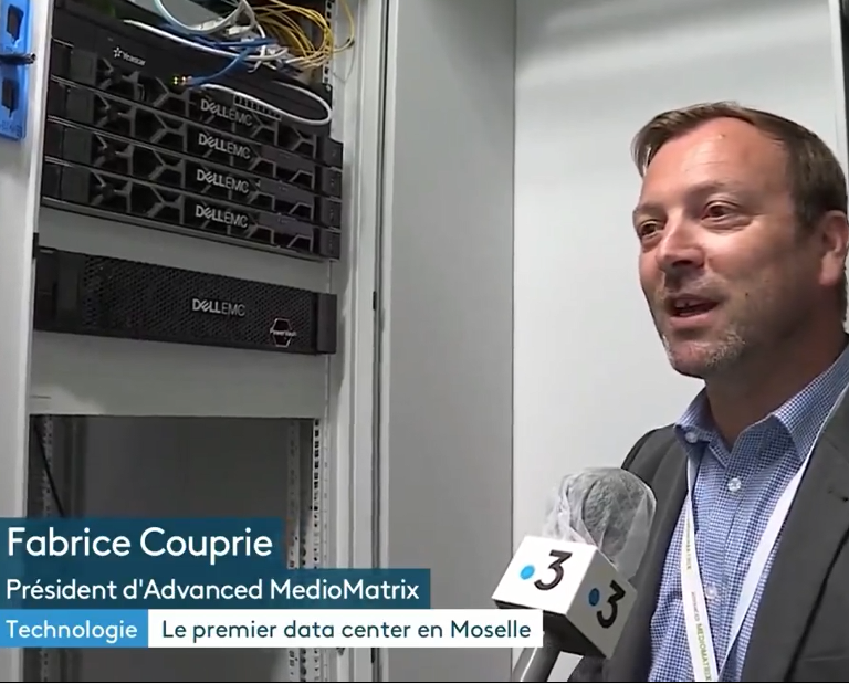 interview Fabrice Couprie, président d'Advanced MédioMatrix