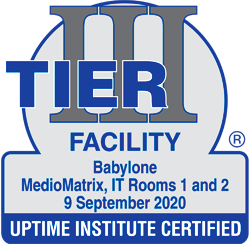 certificat tier3 Facility Advanced Mediomatrix